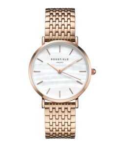 The Upper East Side White Pearl Rosegold